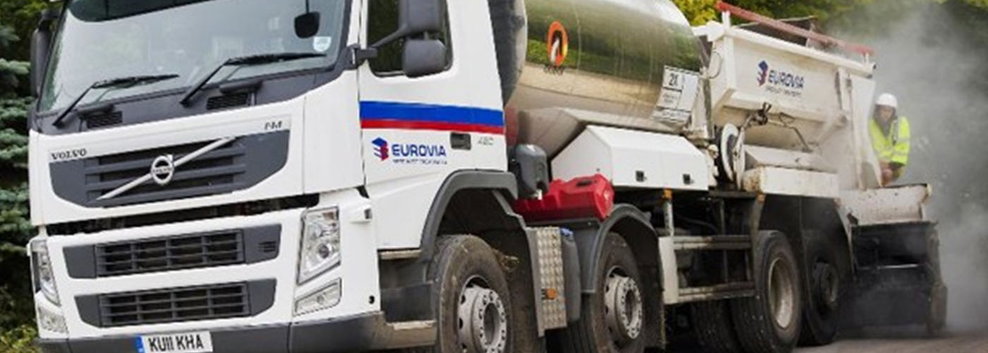 Eurovia Specialist Treatments commercial vehicle