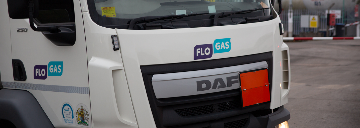 Flogas commercial vehicle