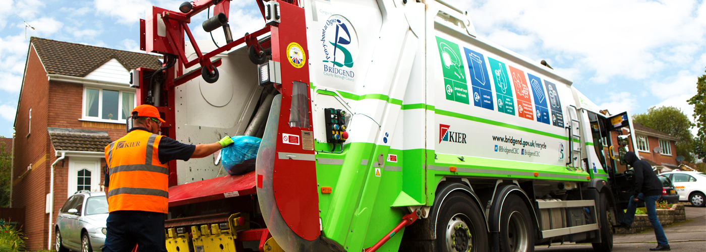 Kier waste vehicle