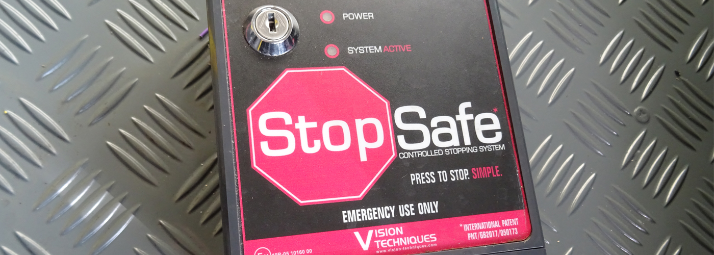 Stopsafe fitted